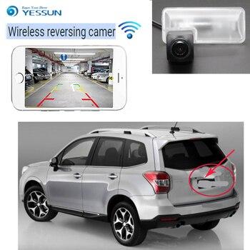 YESSUN new car wireless Rear View Camera For Subaru Impreza WRX Sedan Forester Outback 2008-2014 hd Reversing