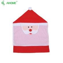 Санта-Клаус Чехлы 65X50 CM рождеством украшение партии Использовать в Доме Ресторане Стулья крышка