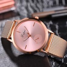 Lvpai damskie casual bardzo uroczy na każdą okazję kwarcowy Pasek silikonowy opaska zegarek analogowy nadgarstek zegarek kobiety zegar Reloj tanie tanio Papieru Klamra Stopu Okrągłe 18mm Fashion Casual YS4884184184898 37 8mm 7 5mm No waterproof 23 5 cm SPRAOI Quartz Skórzane
