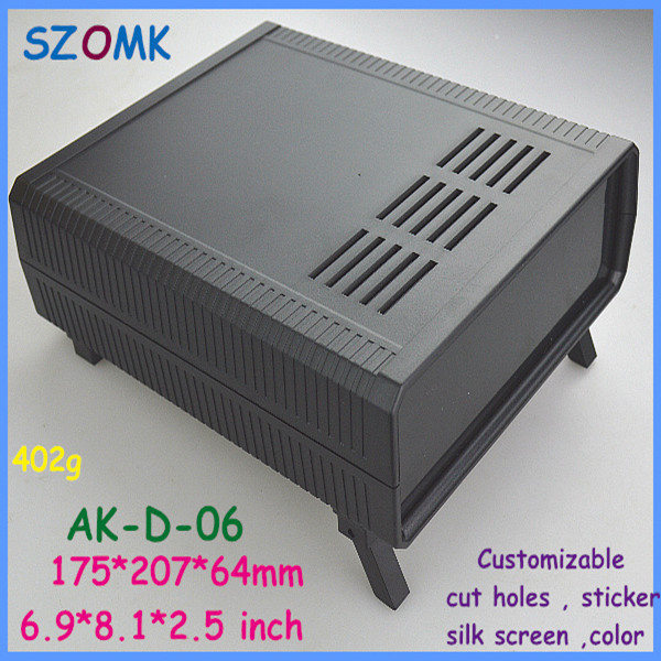 szomk electrical cabinet electronic equipment enclosure (1 pcs)175*207*64mm diy electronic box plastic electronics project box