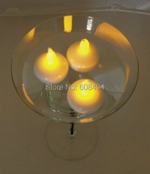 Flameless Floating Led Tealight Candle Tea Light Battery Operated