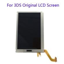 Remplacement supérieur original décran daffichage à cristaux liquides pour lécran daffichage à cristaux liquides de nintention 3DS pour lécran daffichage à cristaux liquides de 3DS