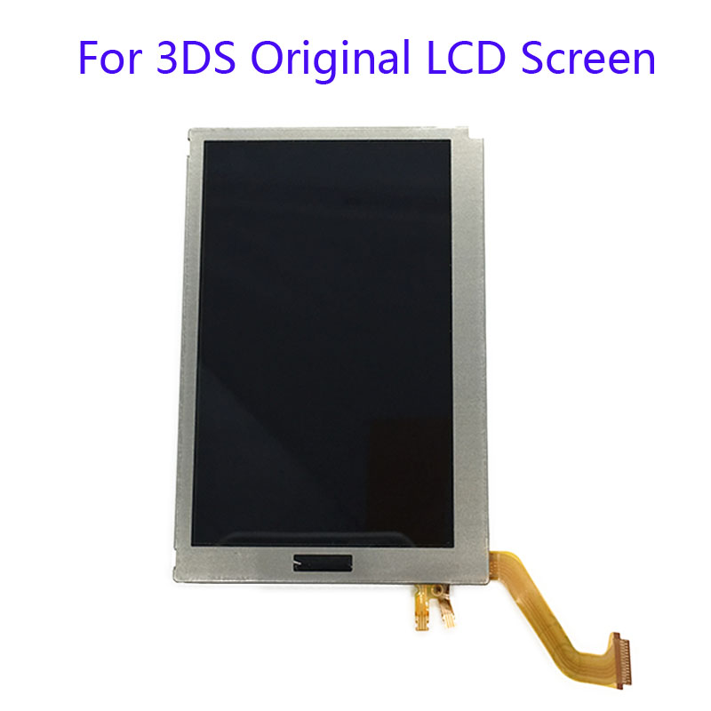 original Top Upper LCD Display Screen Replacement For Nintendo 3DS LCD Screen For 3DS LCD screen used good condition la255 3 with free dhl