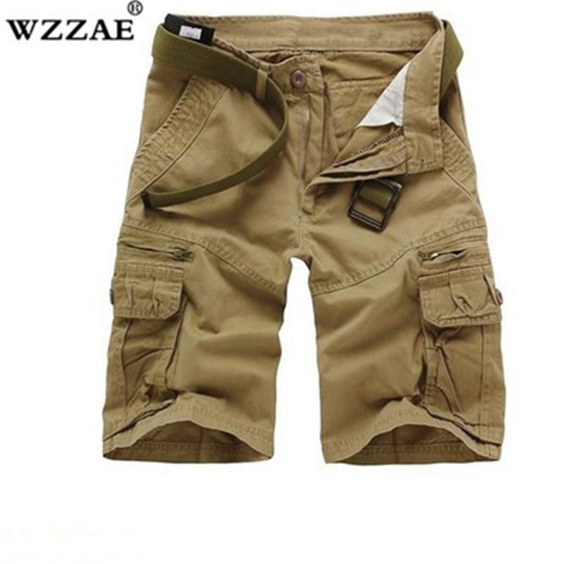 Hot 2018 Shorts Man Summer Brand Fashion Mens Casual Bermuda Camouflage Short Pants Men Homme Printing Loose Cargo Shorts