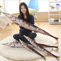 saury shape creative toys fish plush pillow saury plush pillow plush toys 80cm baby toys for kids toys Birthday gift