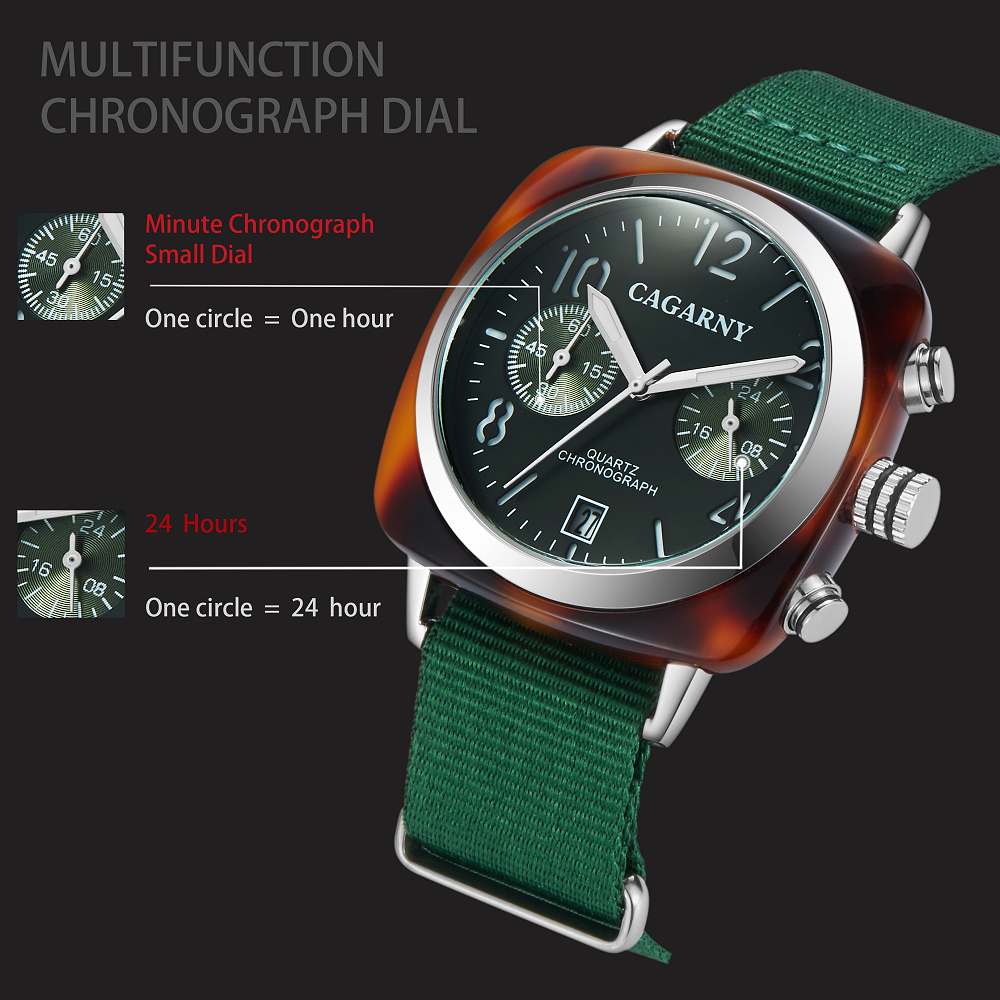 2019 Classic Chronograph Quartz Watches androgynous Fashion Watch His or Hers Wristwatch for Men Women Lovers Wedding Romantic Gift  (13)