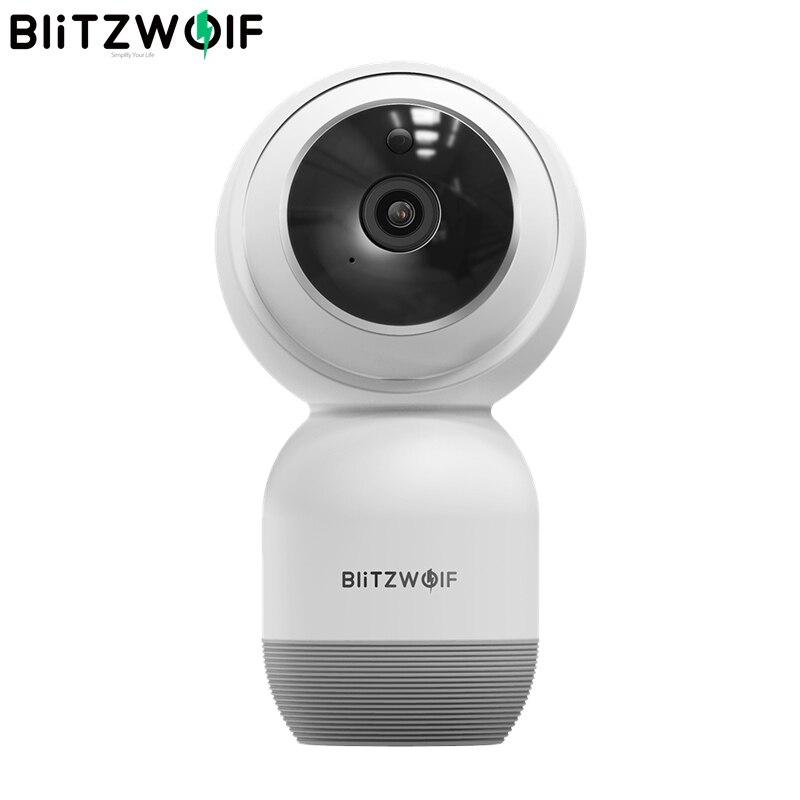 Blitzwolf BW SHC1 1080P Wall mounted PTZ WiFi IP Camera Motion Detect Smart Home Security Monitor