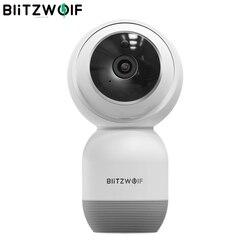 Blitzwolf BW-SHC1 1080 P a Parete TELECAMERA PTZ WiFi IP Camera Motion Detect Smart Home, Casa Intelligente Monitor di Sicurezza Carta di DEVIAZIONE STANDARD di sostegno Cloud di stoccaggio