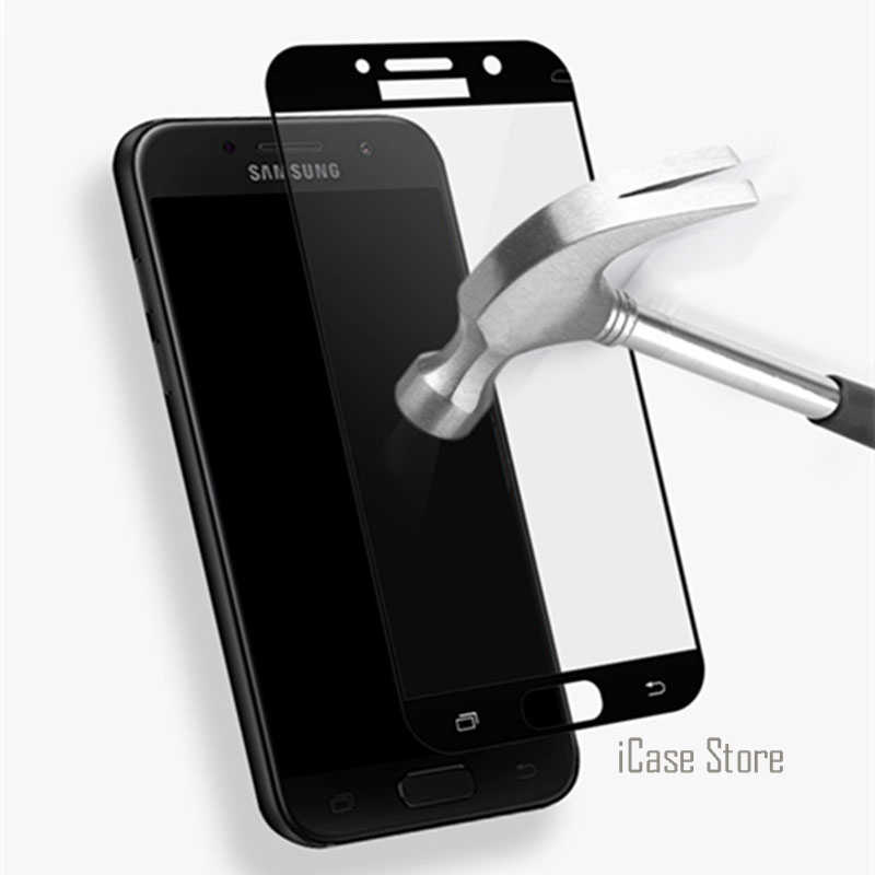 9H Full Cover Tempered Glass For Samsung Galaxy S6 S7 J3 J5 J7 2016 A3 A5 2017 J5 J7 Prime Screen Protector Toughened Protective