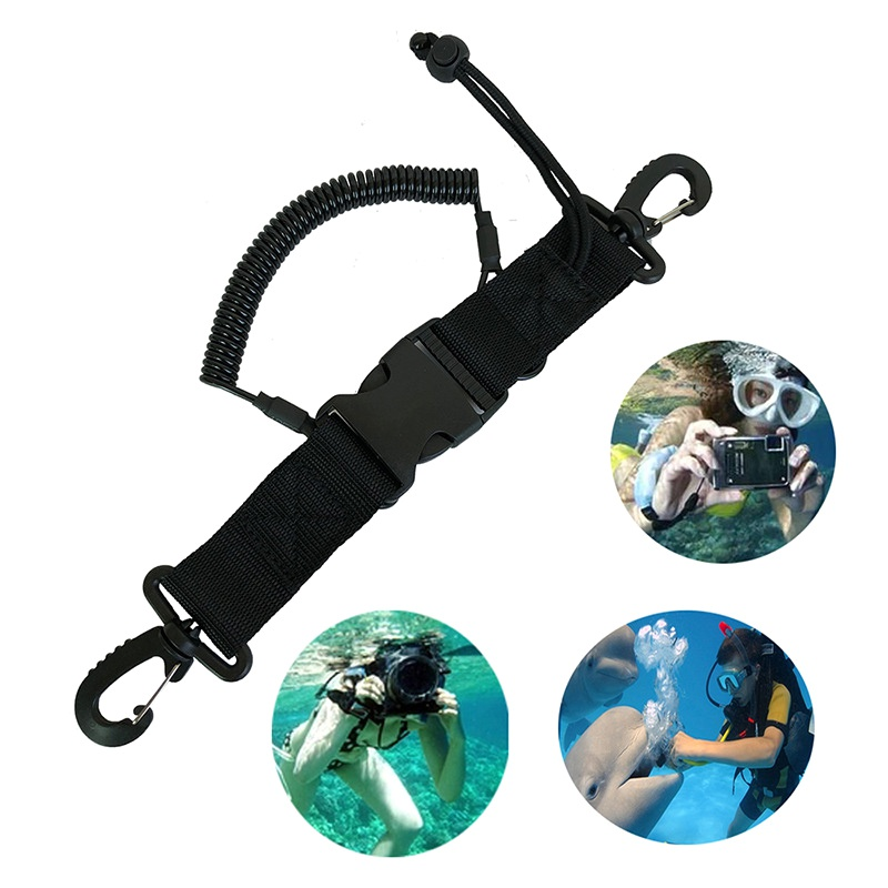 New-arrival Diving Camera Anti-lost Rope 1 pcs Diving Tool Anti-lost Spring Rope Diving Accessories Outdoors