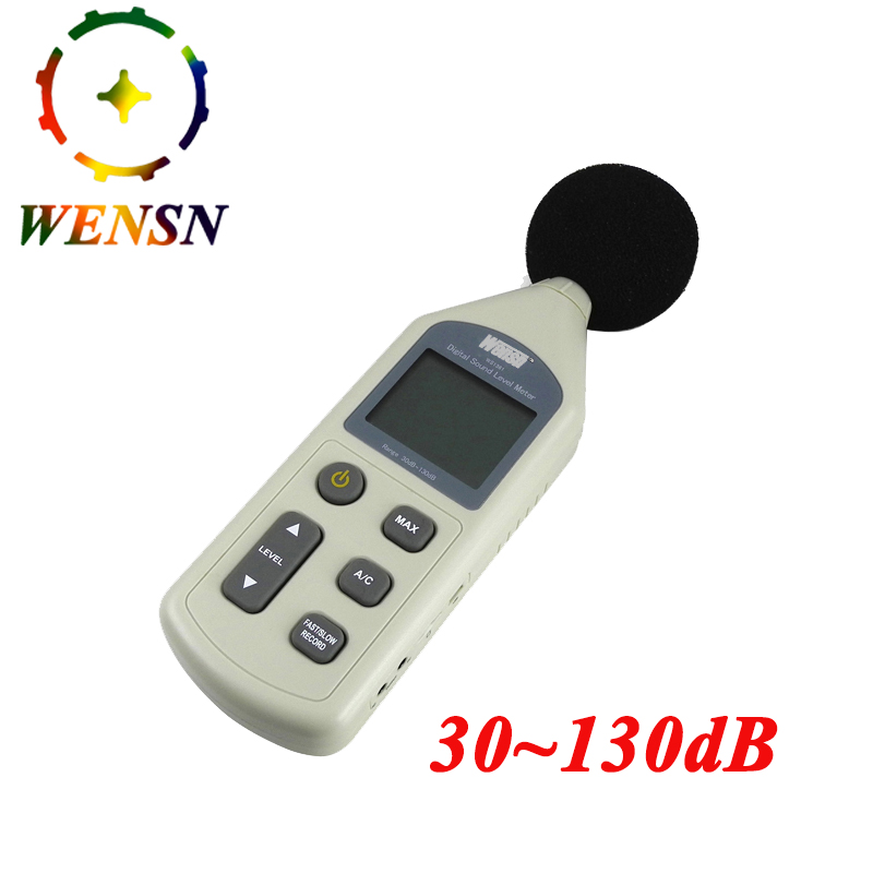 US $25 67 21% OFF|Digital Sound Level Meter Pressure Tester 30 130dB  Decibel USB Noise Measurement with Computer software display Free  Shipping-in