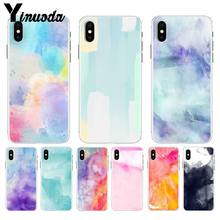 Yinuoda watercolor Soft TPU silicone On Sale Luxury Cool Phone Case for Apple iPhone 8 7 6 6S Plus X XS max 5 5S SE XR(China)