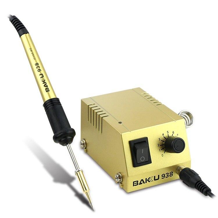 BK-938 Soldering StationBAKU-938 220V 110V  for SMD SMT DIP Soldering Work  Long Life Heater BAKU 938 BK 938