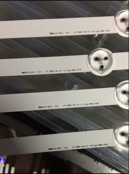 """Image 2 - 12 Pieces LED strip for LG 47""""ROW2.1 Rev 0.7 6916L 1174A 6916L 1175A 6916L 1176A 6916L 1177A,(3*R1,3*R2,3*L1,3*L2)-in Industrial Computer & Accessories from Computer & Office"""