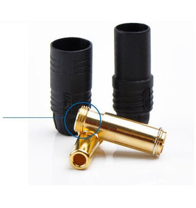 Image 4 - 5sets Amass AS150 Connector plugs Anti Spark Gold Bullet 7mm Connector Male Female Bullet Connectors Plugs for RC battery 20%off
