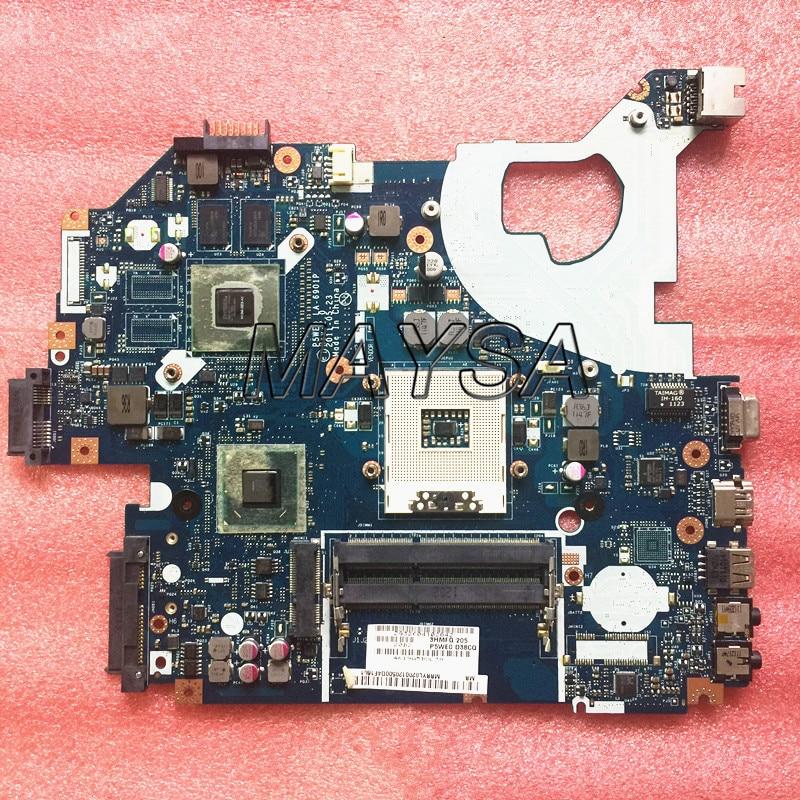 P5WE0 LA-6901P motherboard for acer 5750 5750G 5755 5755G laptop motherboard HM65 GT520M , with 4video memoriesP5WE0 LA-6901P motherboard for acer 5750 5750G 5755 5755G laptop motherboard HM65 GT520M , with 4video memories