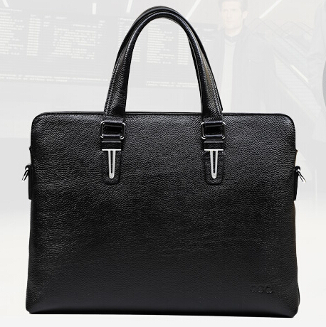 free shipping hot sale fashion brand bags for men genuine leather men briefcase handbag messenger bag portfolios itmes B00031  цены