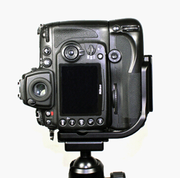 FITTEST Vertical L Type Bracket Tripod Quick Release Plate Base Perfect For Nikon D300 D700 with Battery Grip MB-D10 PT090 стоимость