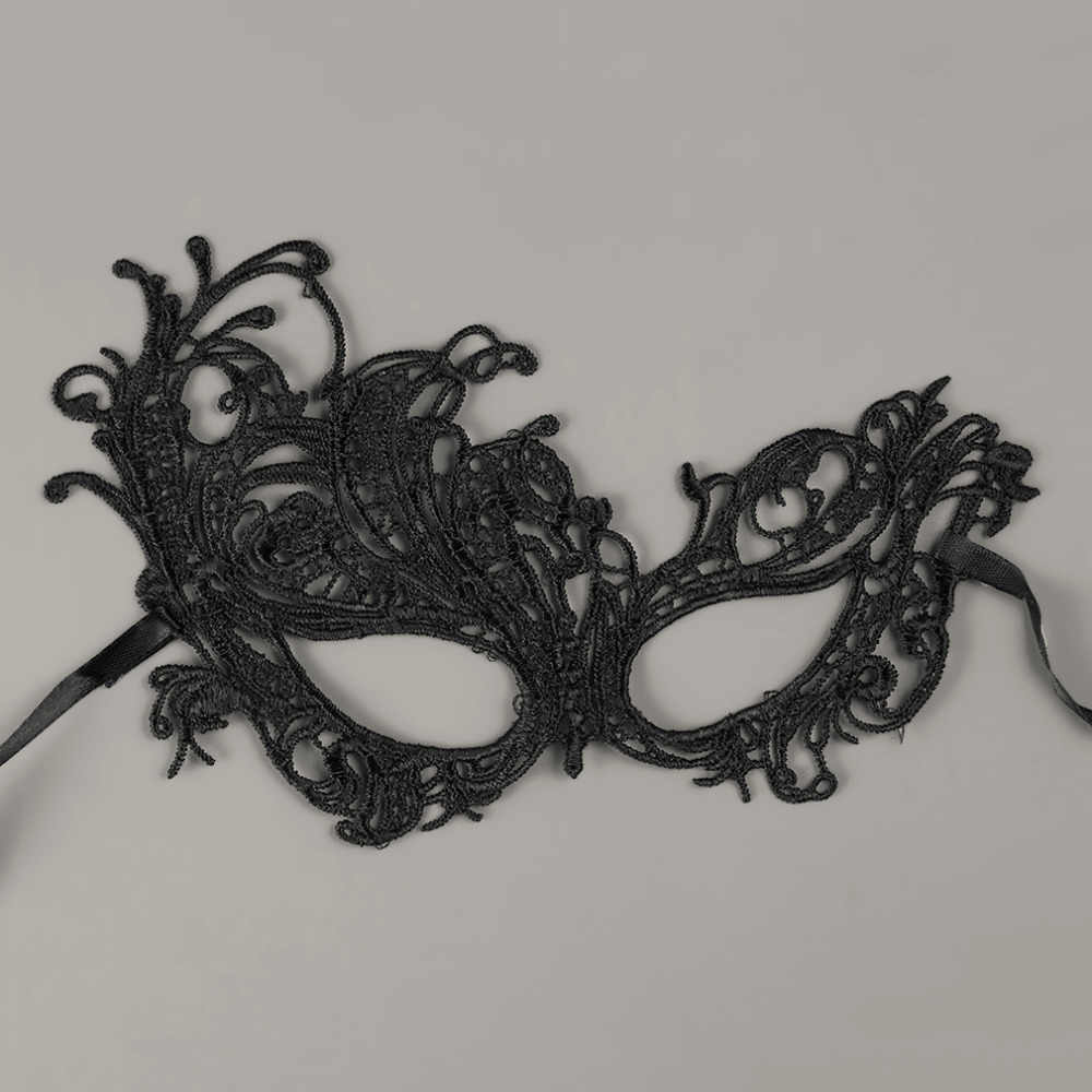 Black Birds Style Sexy Girls Ladies Women Lace Party Face Makeup Mask New Party Halloween Party Dress Costume Accessory