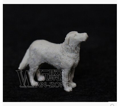 1/35 WW2 soldier Scene model accessories WWII Resin Model of  The dog