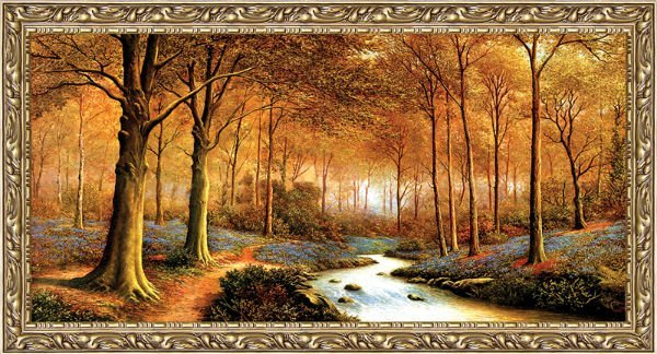Free shipping big size gobelin tapestries,Natural landscape style home decorative picture, Reproduction of antique oil painting
