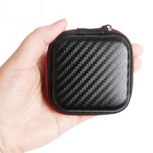 High Quality Headphone Case Bag Portable Earphone Earbuds Hard Box Storage for Memory Card USB Cable Organizer Mini