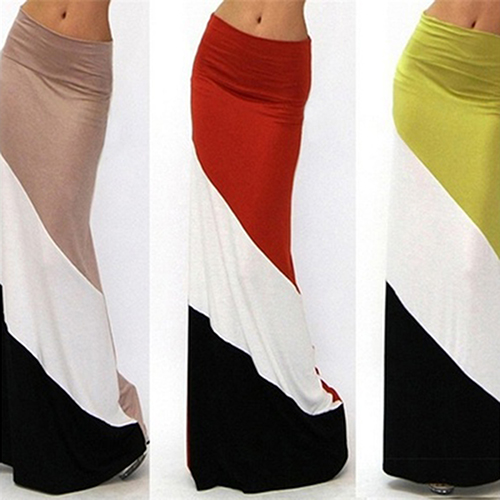 Popular Long Cotton Maxi Skirt-Buy Cheap Long Cotton Maxi Skirt ...