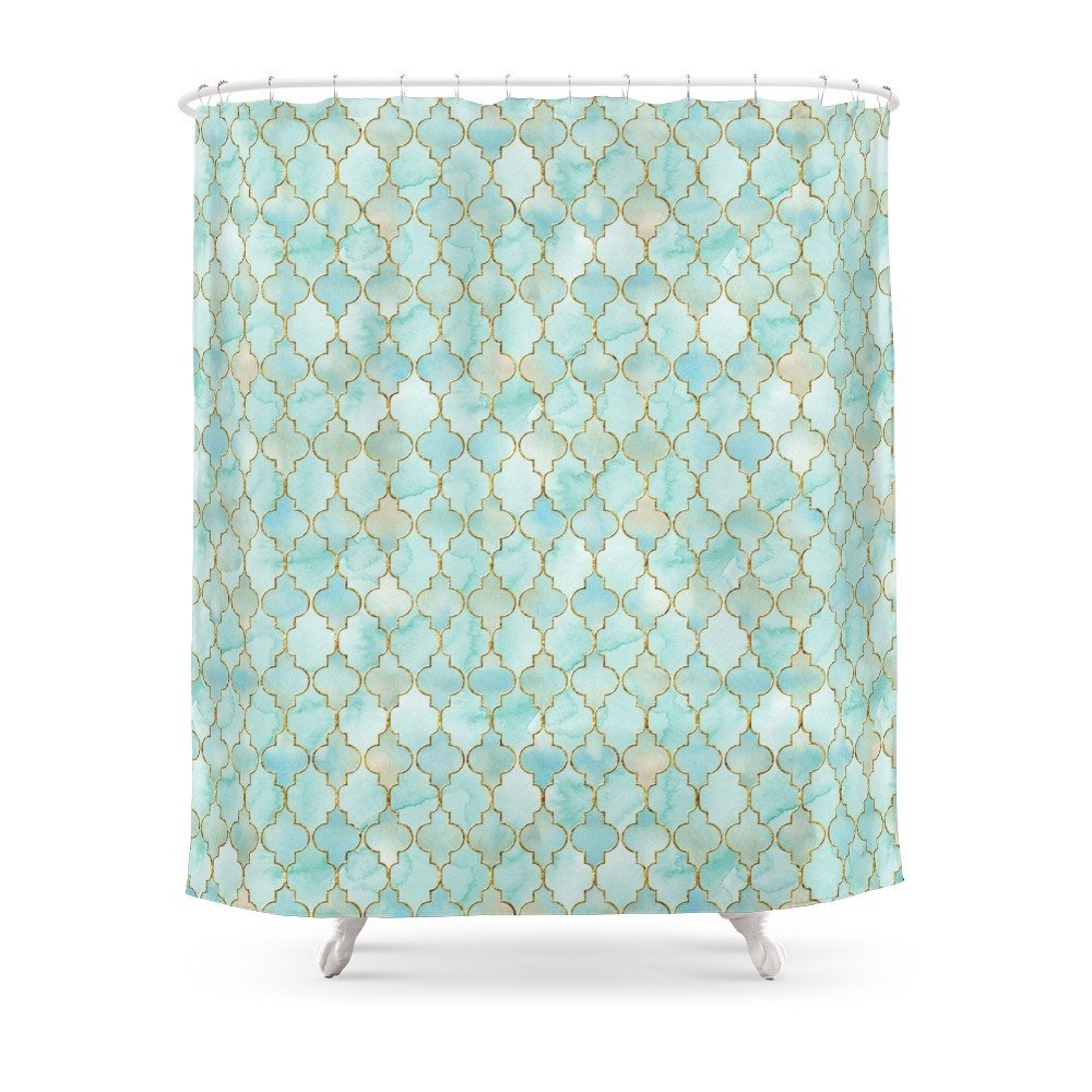 Buy gold shower curtain and get free shipping on AliExpress.com