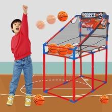 Children Indoor Plastic Basketball Rack Hoop Box Mini Sports Playground for Game