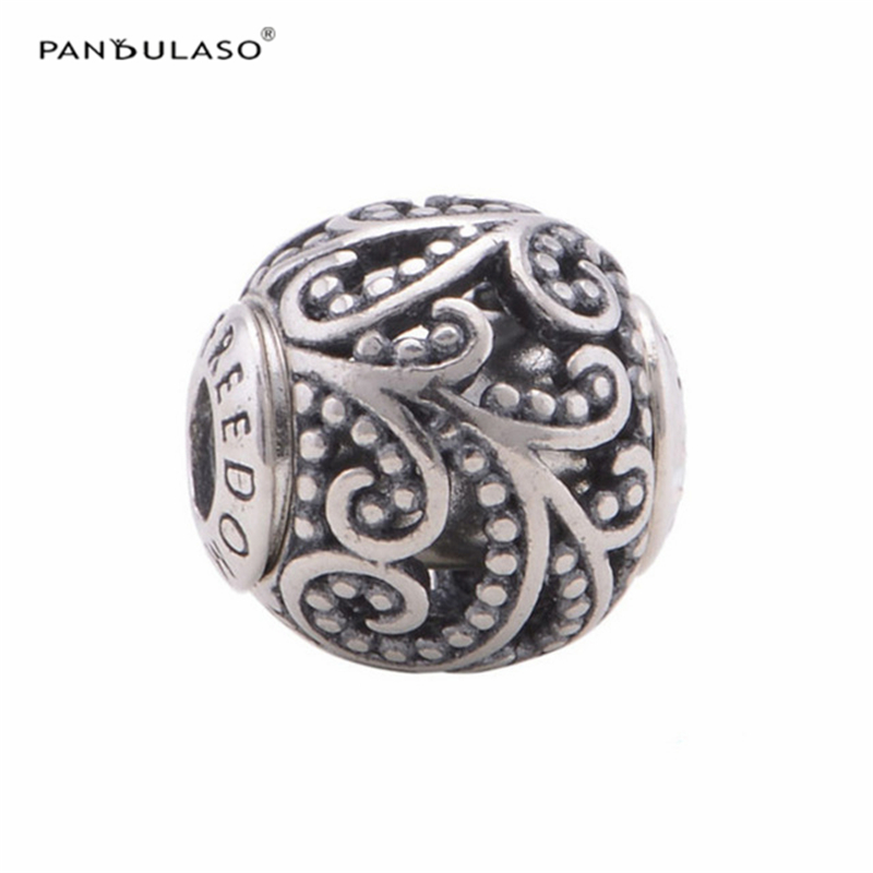 5e1e174c4 ... wholesale pandulaso essence freedom beads fashion sterling silver  jewelry fit essence charms bracelets for women silver ...