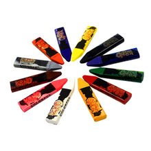 12 Color Face Body Painting Pencil Acrylic Paint Water-Based Hand-Painted Skin Painted Crayons Halloween Pens Ch
