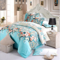 A Generation of Bedding wang xiao Set of 4 Foreign Trade Textile Duvet Cover Diamond Velvet 4 Piece Set Wholesale Supply