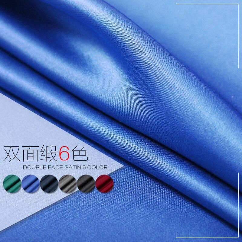 ٩(^‿^)۶Cara seda satinado superior producto 100% seda de doble cara ...