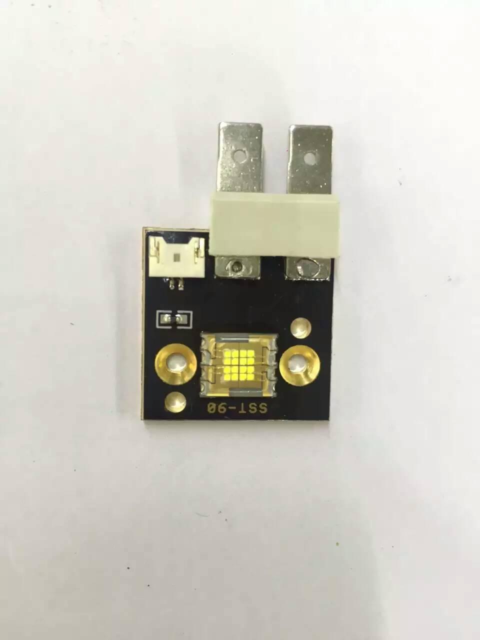 все цены на 4PCS /lot SST-90 90w Led Moving Head Light Source Led Chips Module 6500k 8000 Lumen Single White 90w Led Beam Moving онлайн