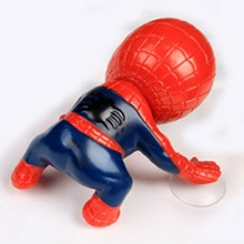 16CM action figure Spider Man Toy Climbing Spiderman Window Sucker