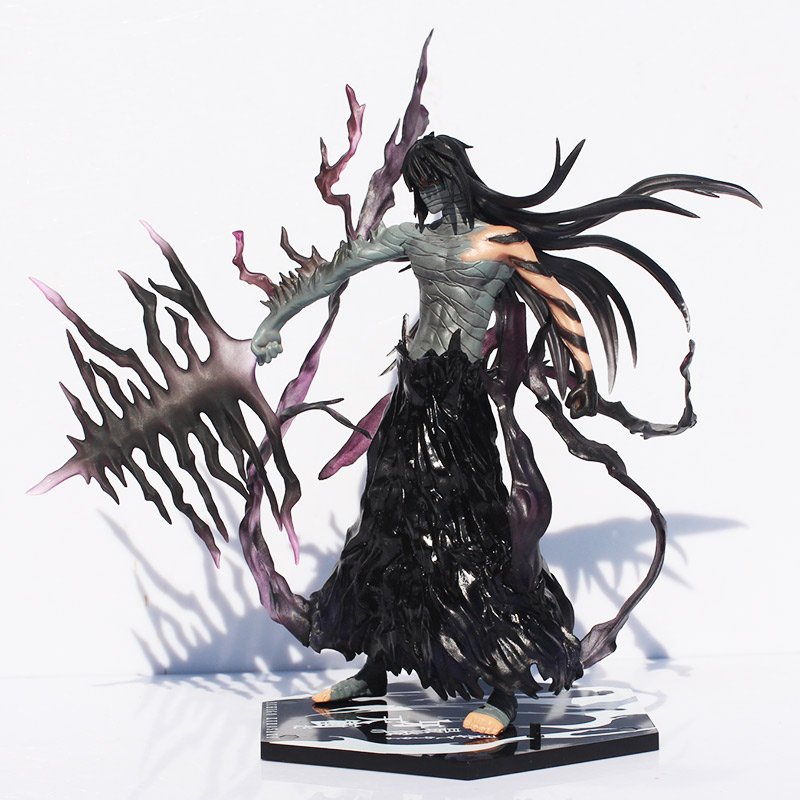 Bleach Figure Ichigo Kurosaki PVC Action Figure Collection Model Toy Ichigo Sword halloween cosplay mask death bleach kurosaki ichigo cosplay pvc props mask masquerade party mask action figure brinquedos