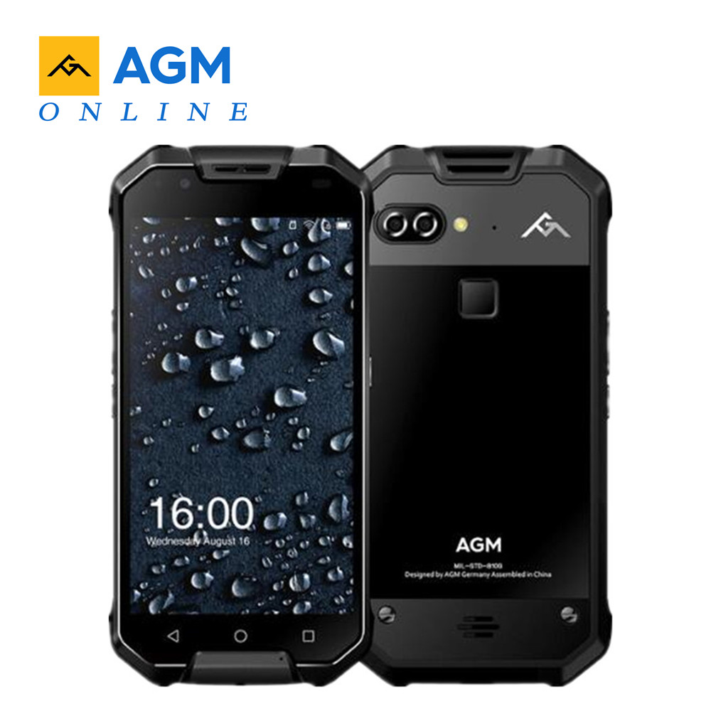 AGM X2 SE 5 5 FHD Android 7 1 FDD LTE IP68 Mobile Phone 6GB 64GB