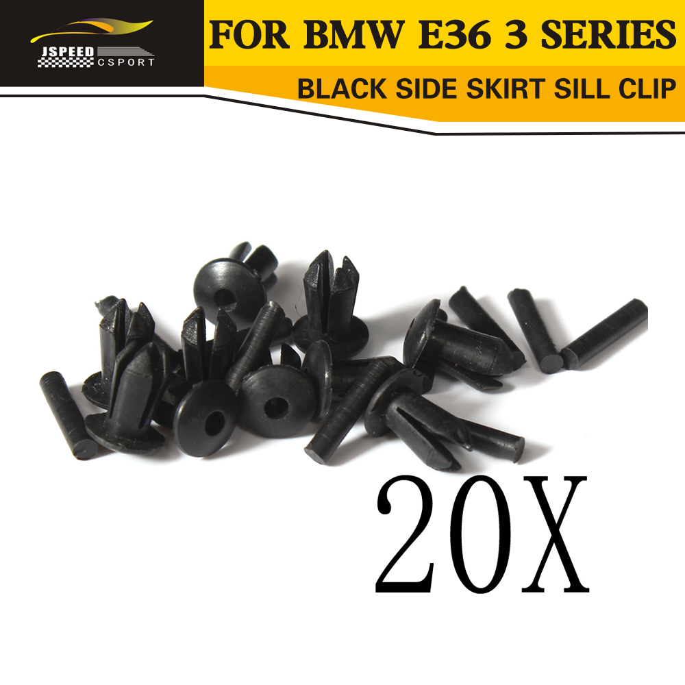 10x Side Skirts Exterior Sill Moulding Reainers Covers For BMW E53 X5 E60 E70