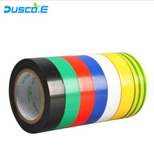 7 Color Electrical Tape Double Sided tape Adhesive Tape Leaded PVC Electrical Insulation Tape 17mm*9m for 3M Vinyl Tape zhishunjia electrical pvc insulation adhesive tape green