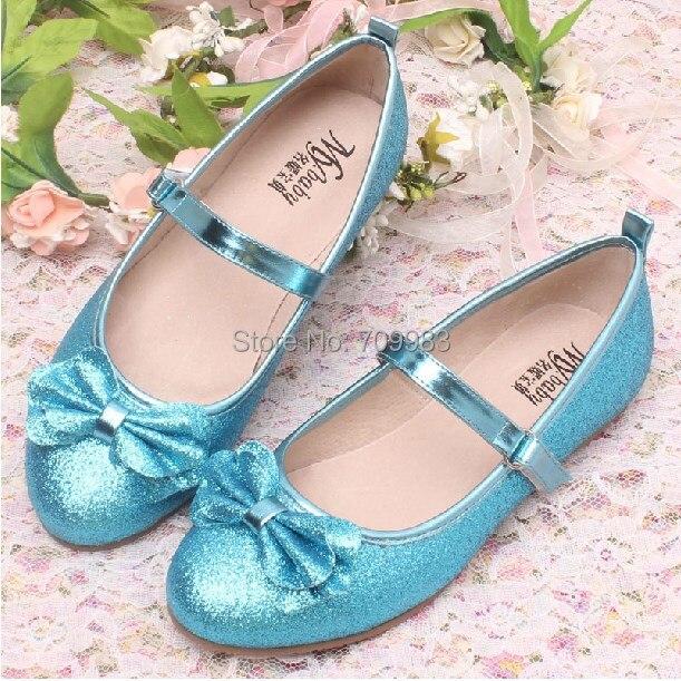 Glitter Ballet Flat Princess Shoes