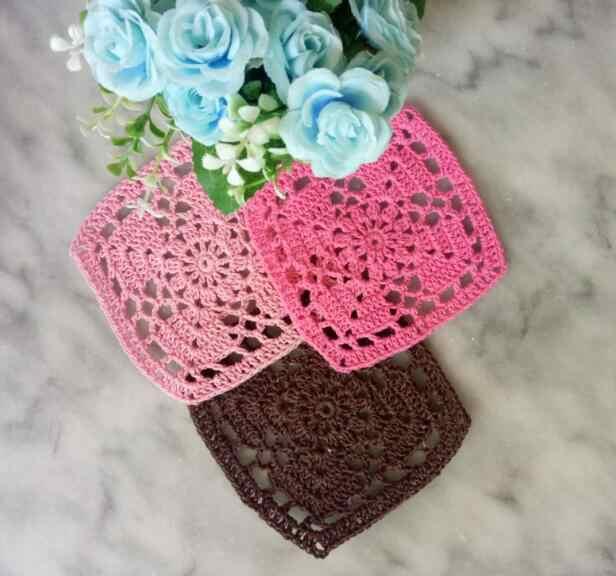 Sang trọng Vòng Handmade Ren bông ra mat bảng pad Vải crochet placemat cốc cốc cốc khăn trải bàn trà coaster ăn vải lau tay nhà bếp