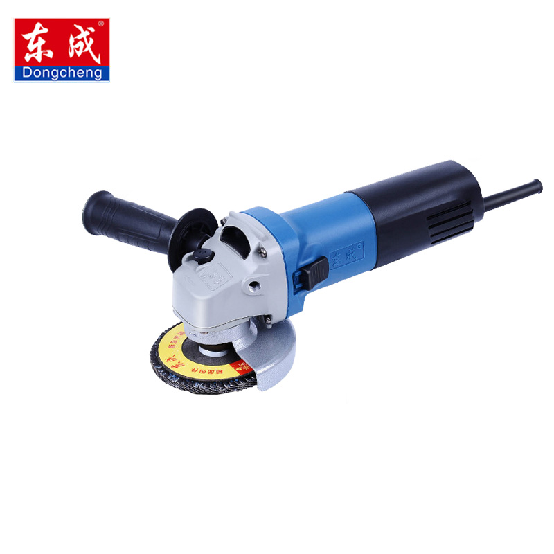 220V 710W Handheld Electric Angle Grinder Speed Regulating Rechargeable Grinding Machine for Metal Wood Polishing Cutting Tools