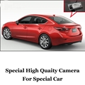 Car Camera For Mazda 3 M3 Axela BM 4D Sedan 2013~2016 High Quality Rear View Back Up Camera For Friends | CCD with RCA