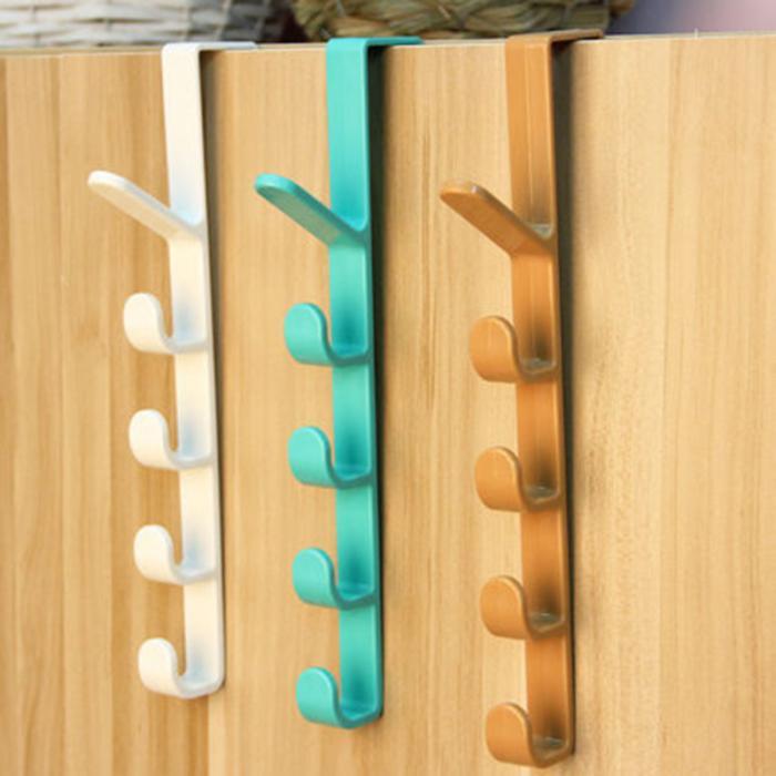 Plastic Door Hooks Over Cabinet Drawer Room Door Hook Kitchen