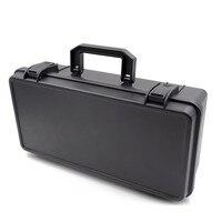 Draagbare instrument doos fotoapparatuur doos plastic veiligheid opslag toolbox Met pre cut spons-in Gereedschapskisten van Gereedschap op