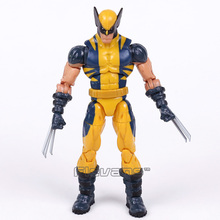 X men figura de acción Original de Logan Lobezno, juguete de modelos coleccionables en PVC