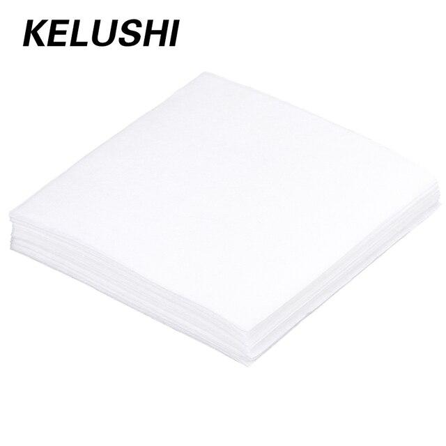 KELUSHI Wholesale Anti-static lint-free wipes dust free paper dust free paper 50pcs fiber optic tools 100*100(MM) Free Shipping