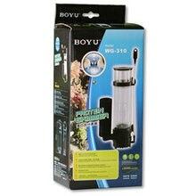 Boyu Protein Skimmer WG-308 WG-310 6W 8 W 220-240V für 80-120L Abnehmbare Aquarium Protein Skimmer mit pumpe Filter