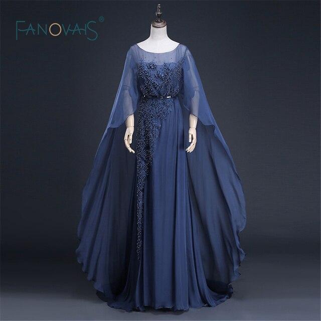 Modern Long Evening Dress New Arrival Formal Dresses Beaded Long