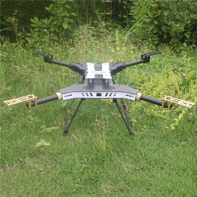 БПЛА H4 680 Дайя Складной 4 Ось Углеродного Волокна Quadcopter Рама с Шасси для FPV